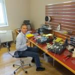 Joachim baut den TB3/1000 amp fertig,